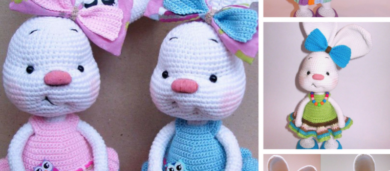 Dress-me-bunny patterns - Amigurumipatterns.net | 350x798
