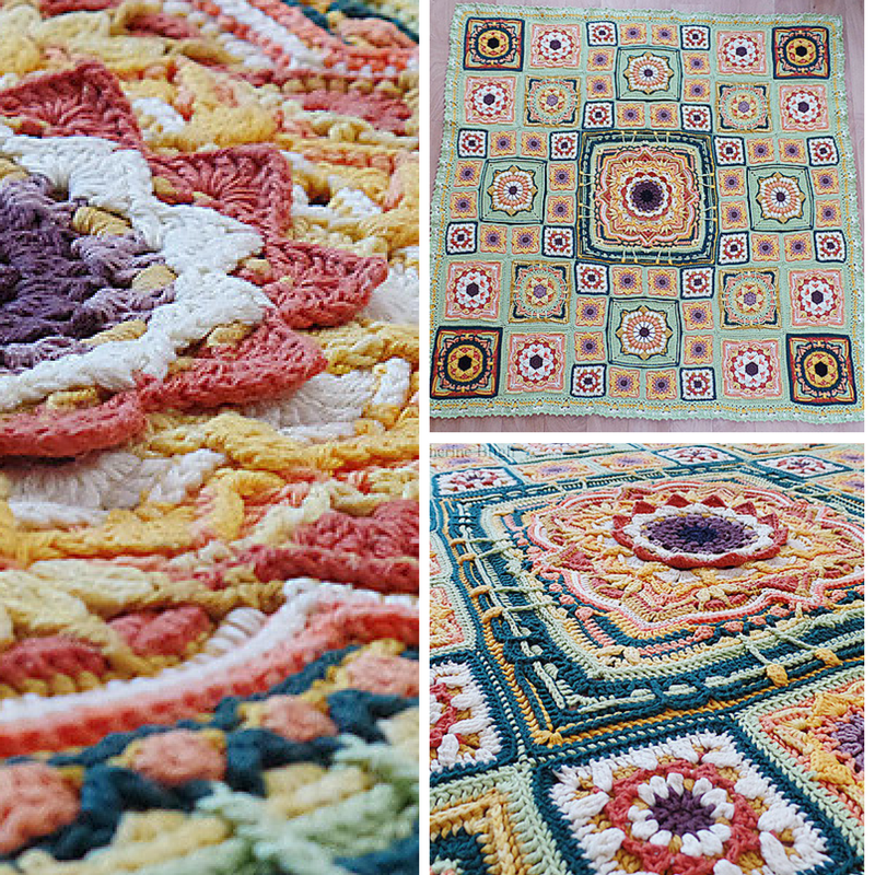 Eve's Sunflowers-Yet Another Magnificent Crochet Blanket Pattern