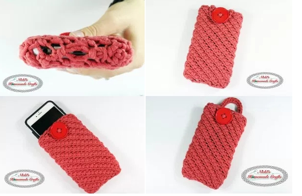Multitasking Cell Phone Pouch Crochet Pattern Everyone Needs