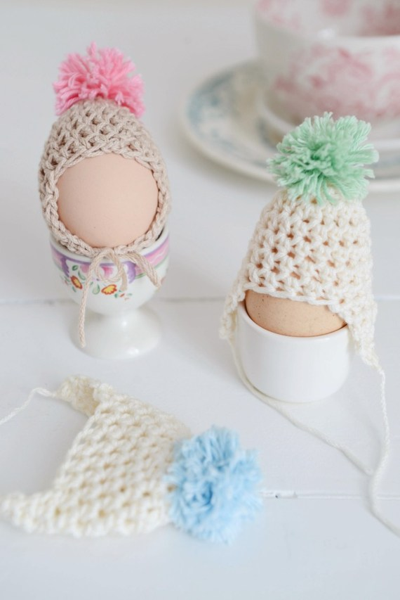 The Sweetest Egg Dude Hats Ever!