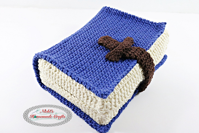 [Free Pattern] Here' How To Make A Stunning Crochet Book Cover Using The Thermo Stitch