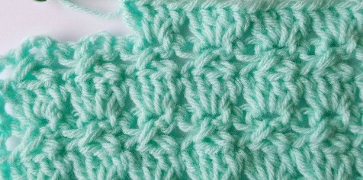Learn A New Crochet Stitch The Cabbage Patch Stitch Knit And