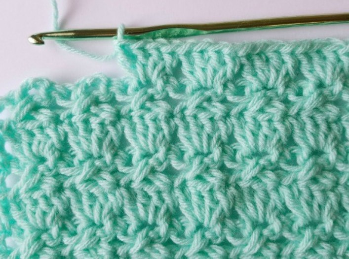 Learn A New Crochet Stitch: The Cabbage Patch Stitch