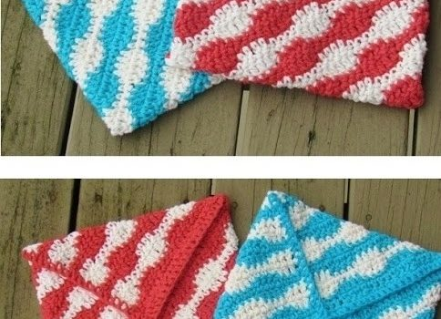 Free Pattern Quick And Sassy Crochet Potholder For A Gift Or To
