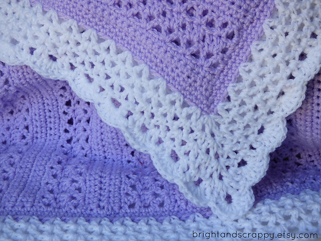 [Free Pattern] Quick, Easy And Beautiful Adeline Baby Blanket