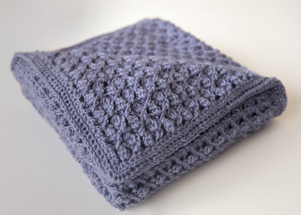 This Heirloom Baby Blanket Free Crochet Pattern Is A Beautiful Gift To Welcome The New Baby
