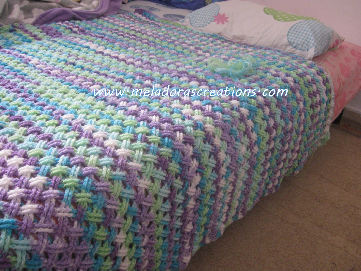[Video Tutorial] Stunning Interweave Cable Stitch Afghan Made Really Simple
