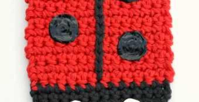 Free Pattern These Cute Ladybug Coasters Will Really Brighten Any