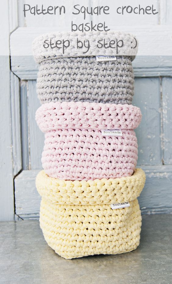 [Free Pattern] Fabulous Zpagetti Square Basket You Can Make For Everyone In Your Life