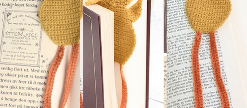 Free Pattern This Adorable Chicken Bookmark Is Simply Awesome