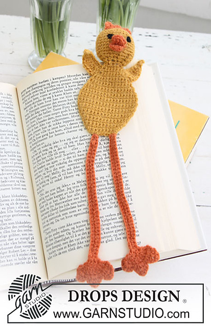 [Free Pattern] This Adorable Chicken Bookmark Is Simply Awesome