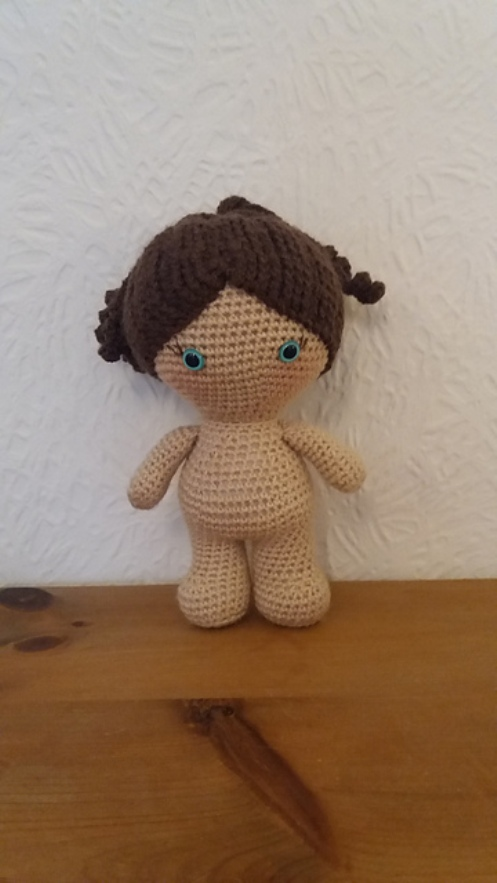[Free Pattern] Easy, Quick And Cute This Weebee Standard Size Baby Doll Is A Fun Little Project