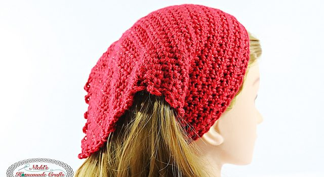 Free Pattern Searching For The Perfect Summer Head Kerchief Youll