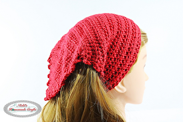 [Free Pattern] Searching For The Perfect Summer Head Kerchief? You'll Love This One!