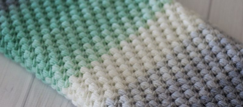 Free Pattern This Lovely Bean Stitch Crochet Pattern Makes An