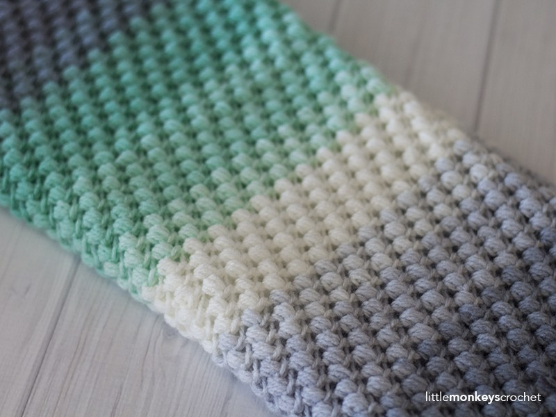 Free Pattern This Lovely Bean Stitch Crochet Pattern