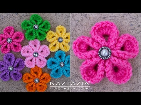 Video Tutorial This Gorgeous Crochet Japanese Flower May