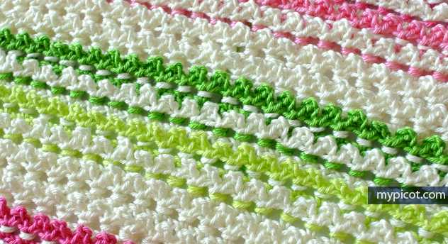 Learn A New Crochet Stitch: Simple Crochet Picot Stitch