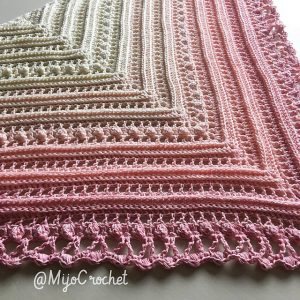 [Free Pattern] Beautifully Textured Shawl Pattern
