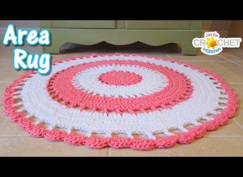 Video Tutorial Beautiful Area Rug To
