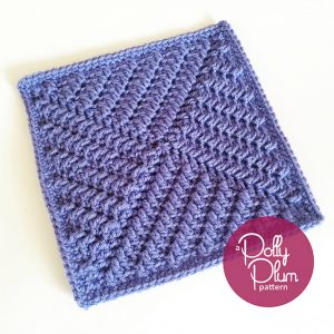 [Free Pattern] Stunning Texture-Rich Afghan Square With Amazingly Clever Design