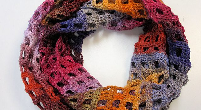 Free Pattern Simple But Beautiful Crochet Scarf Pattern Knit And