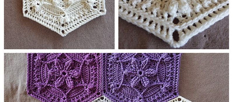 Free Pattern Adorable Pattern For A Hexagon Shaped Motif Knit And