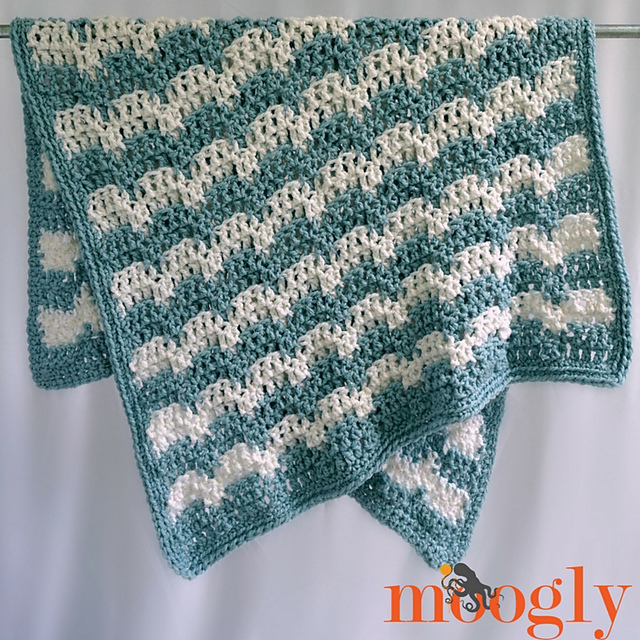 [Free Pattern] Simple Snuggy Afghan Pattern With A Lot Of Oomph!