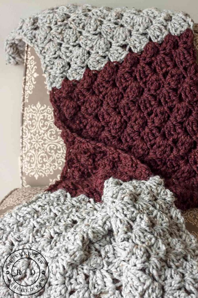 [Free Pattern] Super Fast Beginner's Crochet Blanket