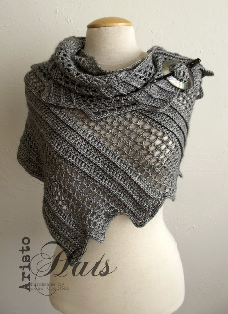[Free Pattern] Brilliantly Simple Shawl Pattern With A Lovely Design
