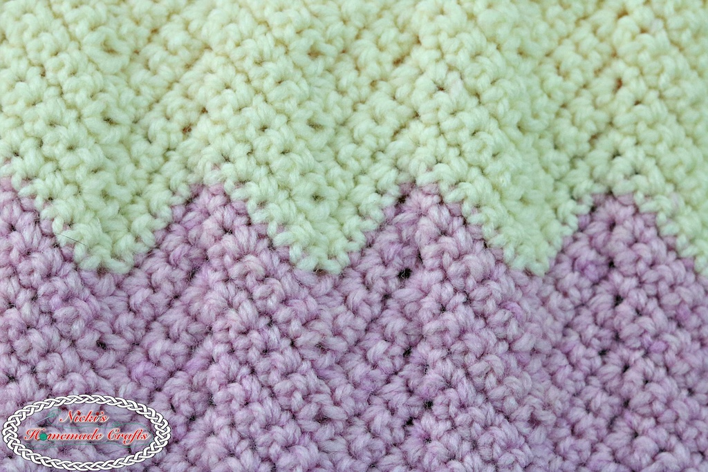 Learn A New Crochet Stitch Chevron Ripple Stitch In