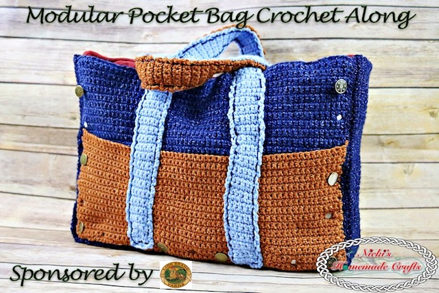 [Free Pattern] Reversible And Expandable Modular Pocket Bag With Removable Inside Pocket