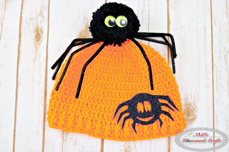 [Free Pattern] Mind-Blowingly Cute And Simple Spider Pom-Pom Hat