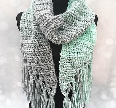 Free Pattern Beginner Friendly Crochet Scarf Pattern With A Modern