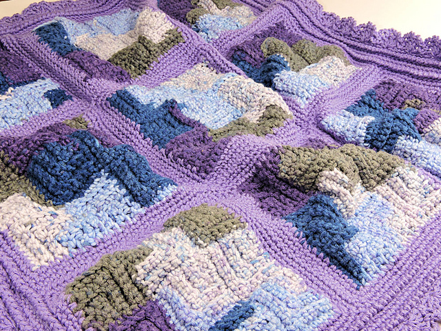 [Free Pattern] Gorgeous Starry Night Baby Blanket Is An Awesome Blanket For Children