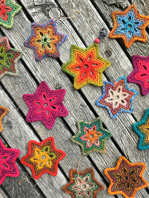 [Free Pattern] This Crochet Star Is Beautiful And Sparks Joy
