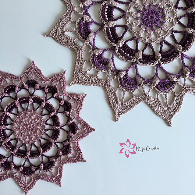 Insanely Cute Frozen Lotus Free Crochet Pattern
