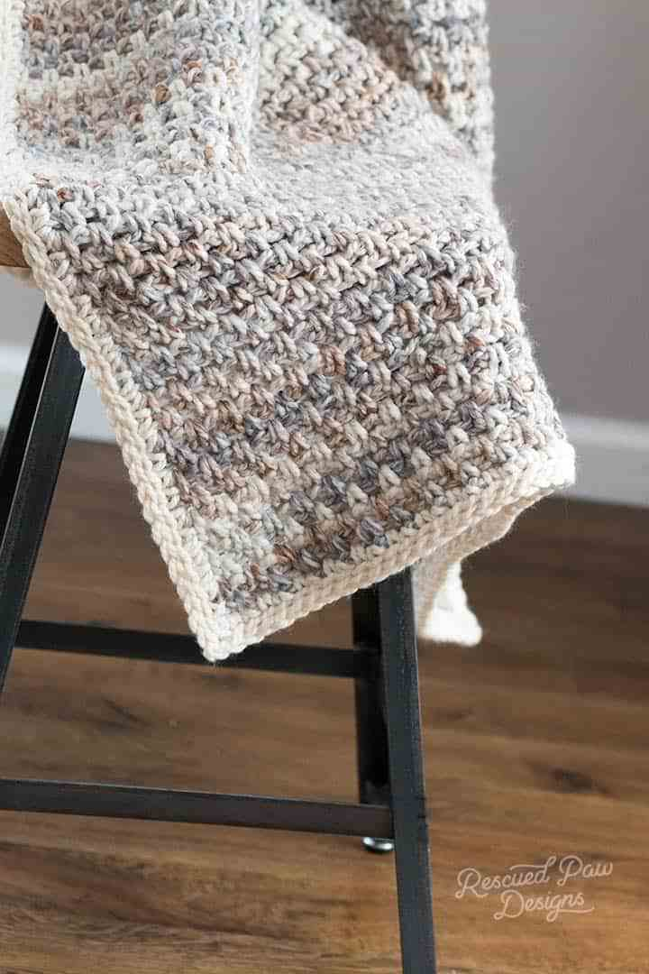 Free Pattern The Perfect Go To Easy Crocheted Blanket