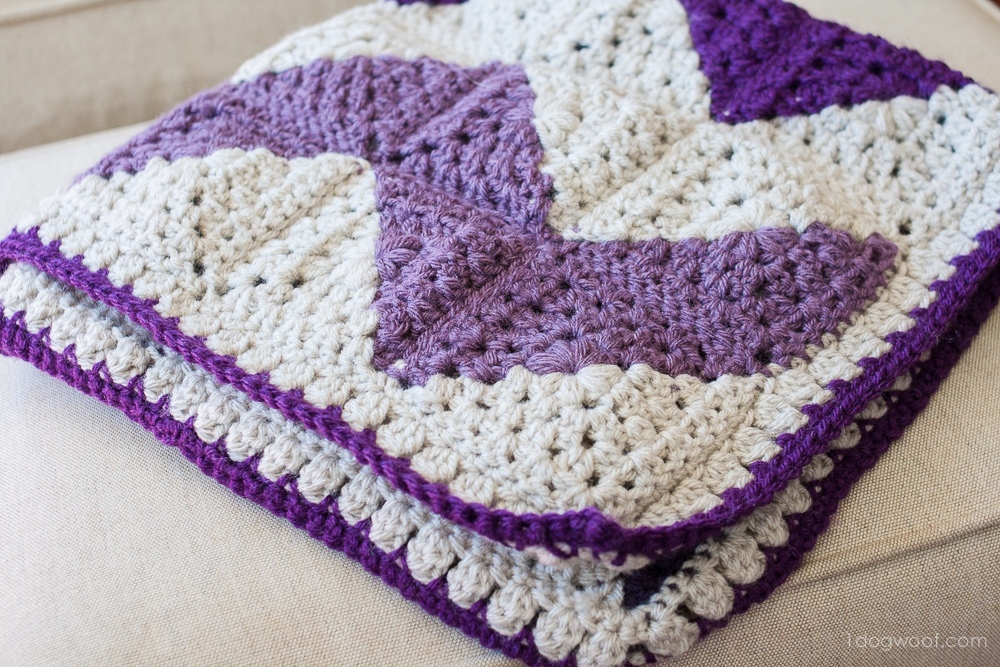 Free Pattern] Insanely Clever Way To Make A Gorgeous Granny Squares ...