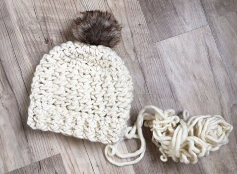 Free Pattern Quick And Chunky Crochet Hat To Work Up For Christmas