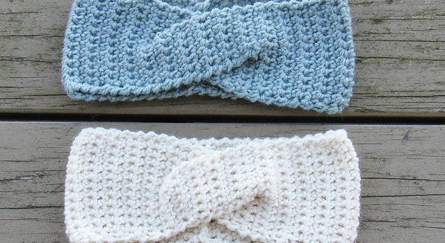 Free Pattern This Quick Twist Ear Warmer Will Make Winter Running