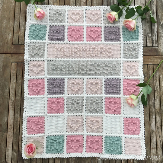 Free Pattern Adorable Hearts Butterflies And Princess Crowns