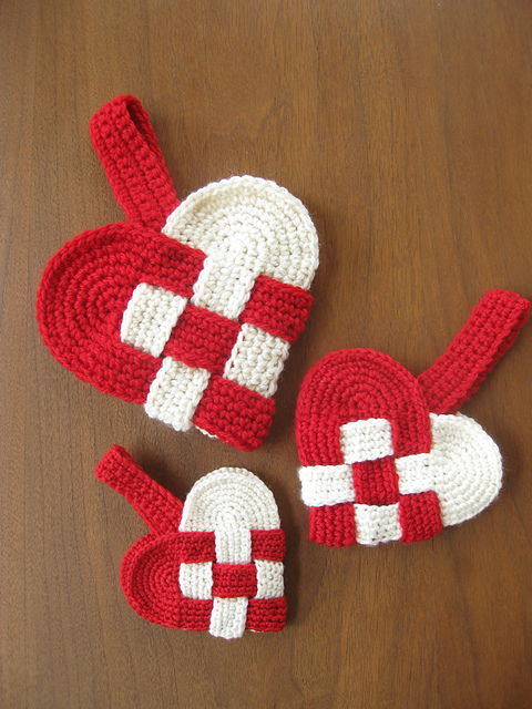 [Free Pattern] Insanely Creative Crochet Danish Heart Pattern