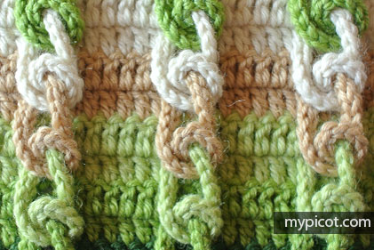 Learn A New Crochet Stitch: The Amazing Knot Stitch