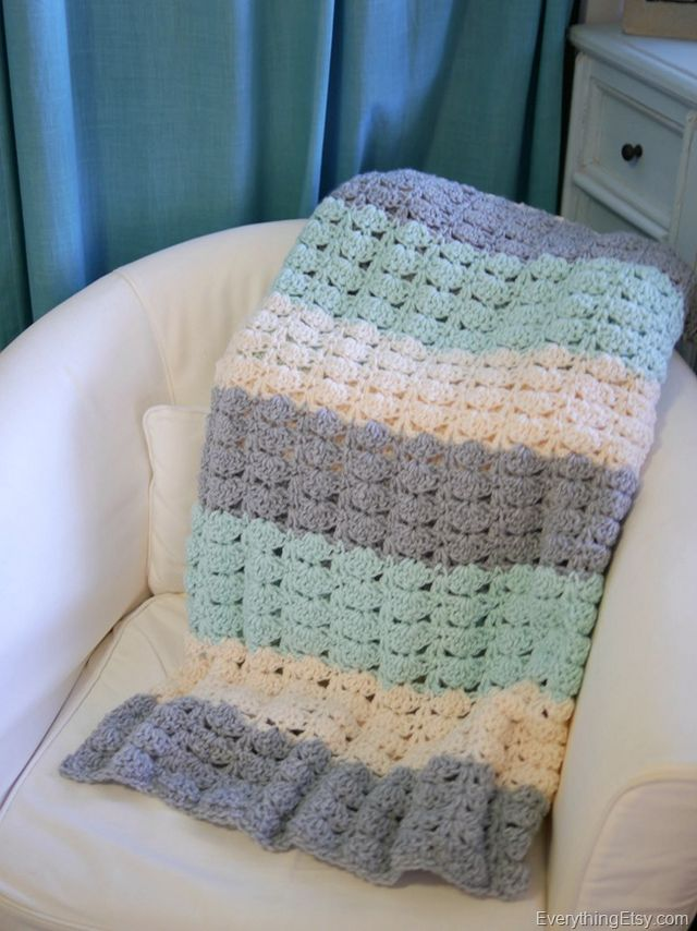 Free Pattern Fabulous And Ridiculously Easy Crochet Shell Stitch