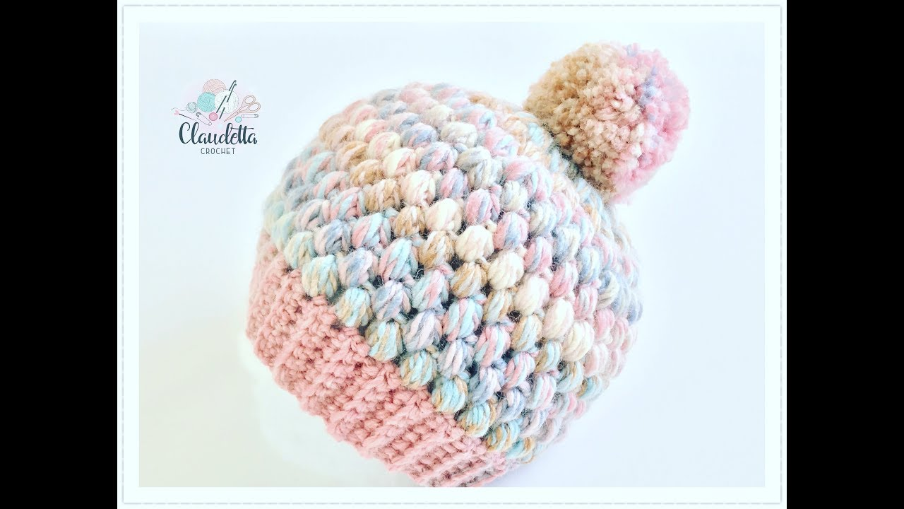 Video tutorial super easy crochet puff stitch hat pattern tutorial go ahead and follow the link to the next page for the super easy crochet puff stitch hat pattern video tutorial baditri Image collections
