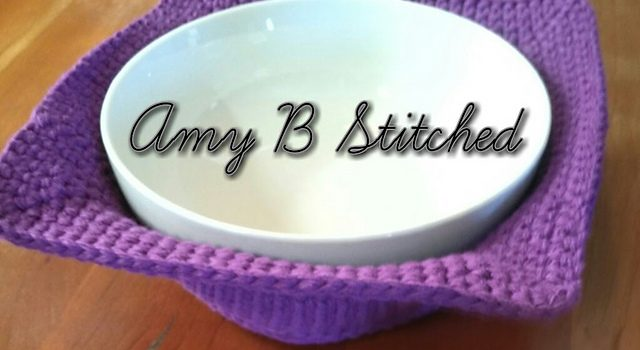 Free Pattern This Bowl Cozy Hot Pad Pattern Is Genius Knit And
