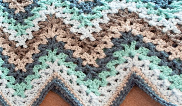 Free Pattern] Super, Super Simple And Beautiful Vintage-Style Ripple ...