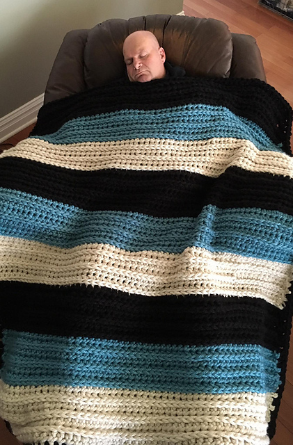 [Free Pattern] Super Easy Weighted Blanket To Help With Insomnia, Anxiety And Many Other Issues!