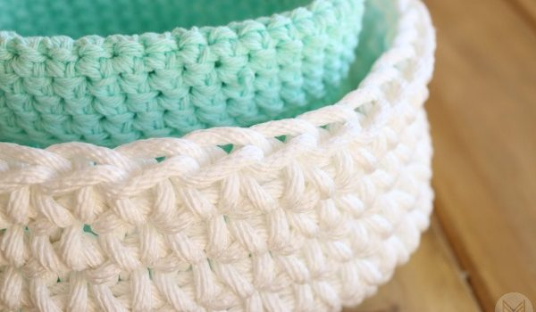 Free Pattern Quick And Simple Crochet Basket Great For Even